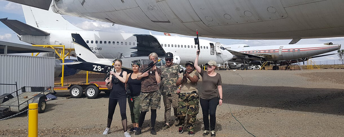Laser Tag Germiston Airport