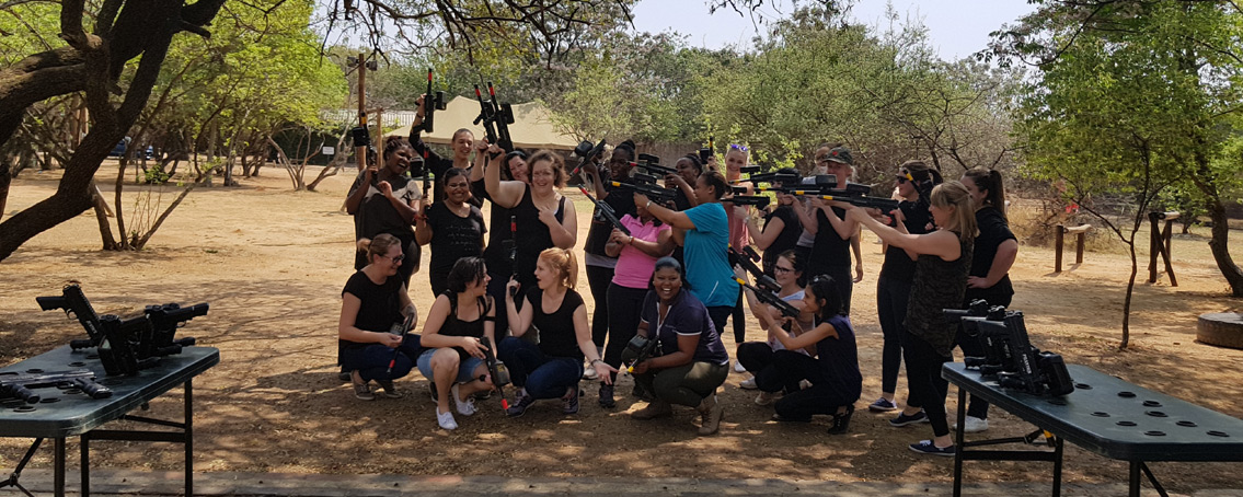 Sandton Laser Tag Corporate Teambuilding