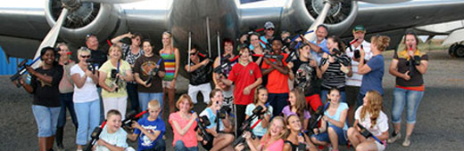 Laser Tag Gauteng Aviation Museum